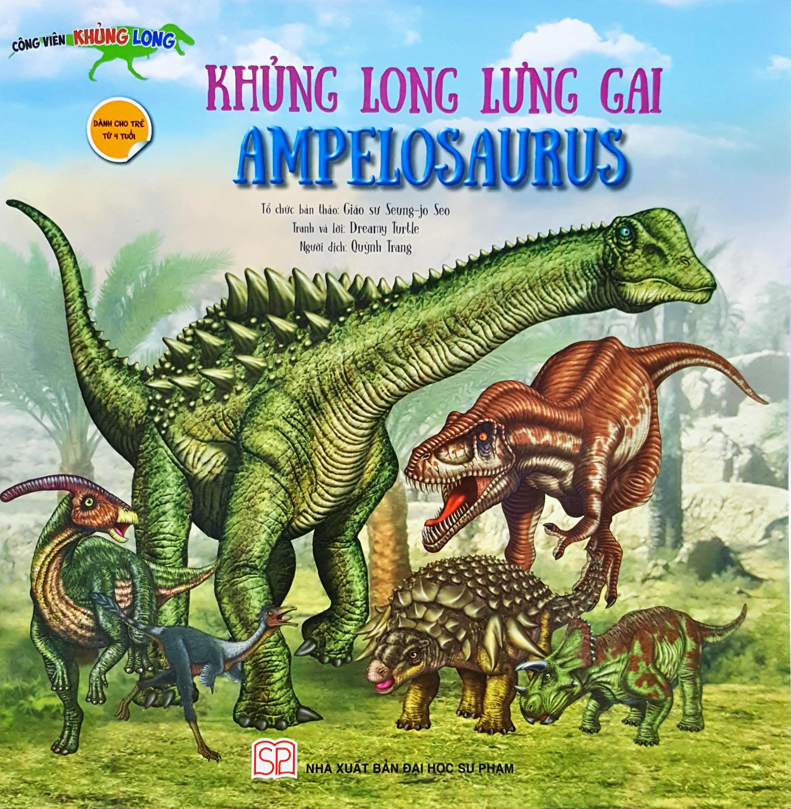 Khủng Long Lưng Gai Ampelosaurus