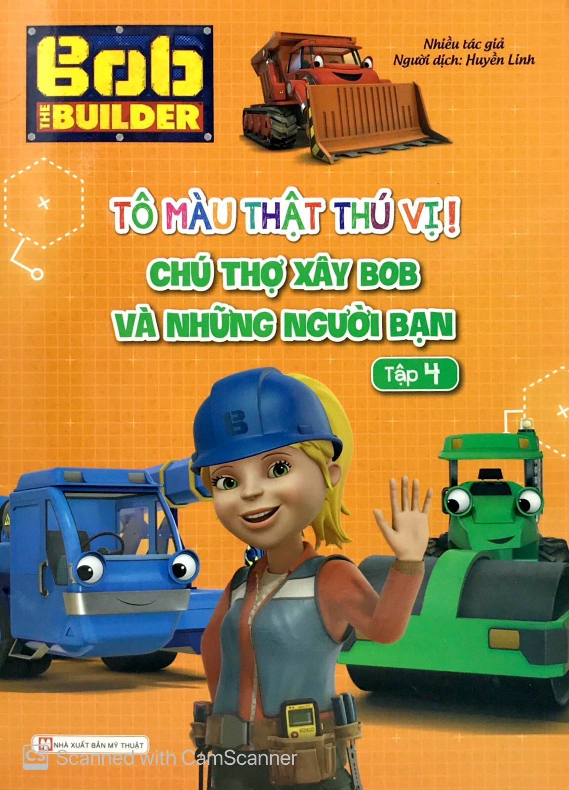 Bob The Builder-Tô Màu Thật Thú Vị-Chú Thợ Xây Bob Và Những Người Bạn 4