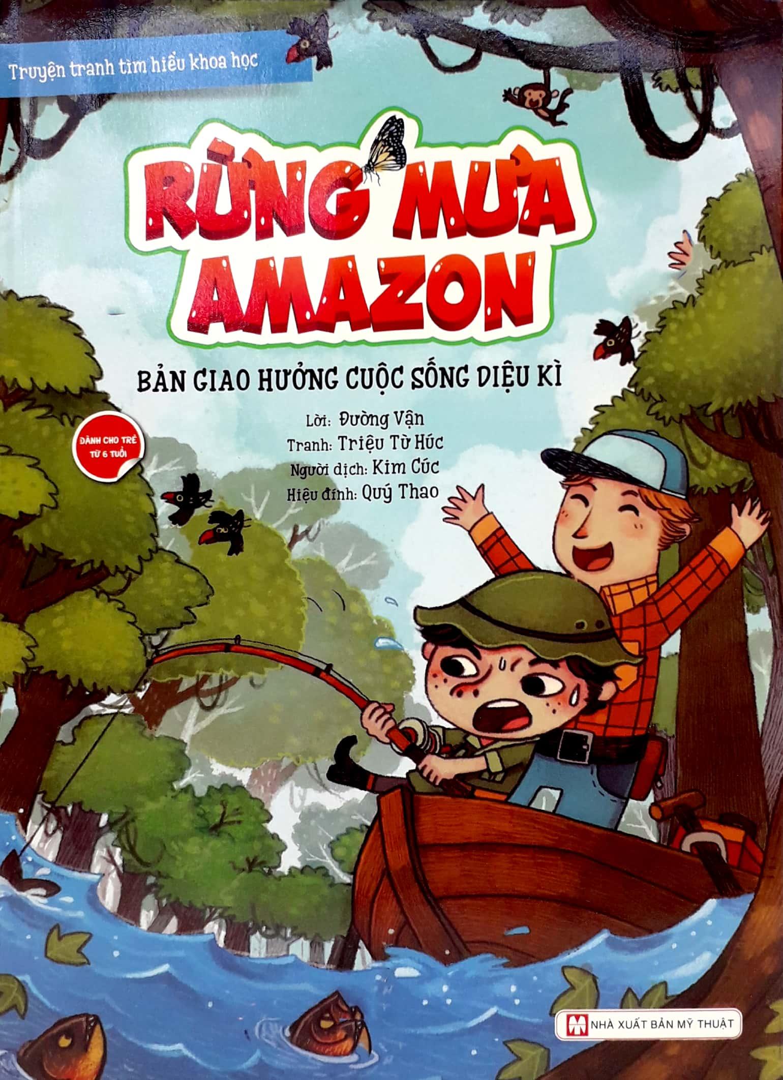 Rừng Mưa Amazon - Bản Giao Hưởng Cuộc Sống Diệu Kì