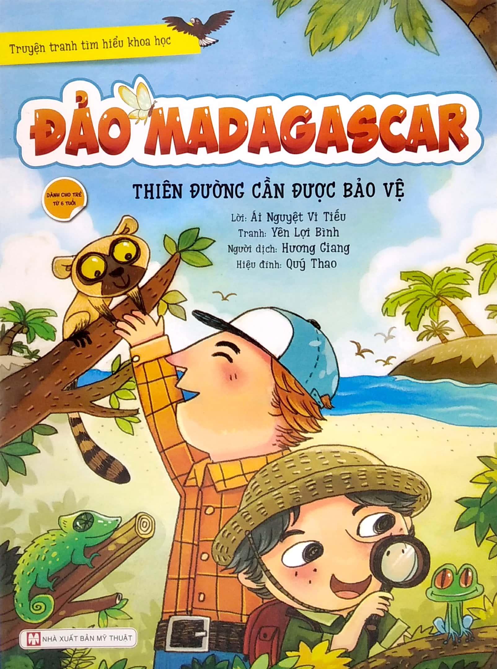 55_Truyện tranh tìm hiểu khoa học - Đảo Madagascar