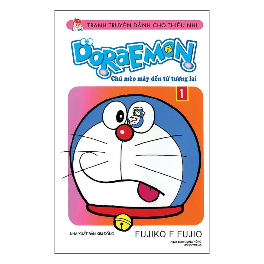 Doraemon - Chú Mèo Máy Đến Từ Tương Lai - Tập 1 (Tái Bản)