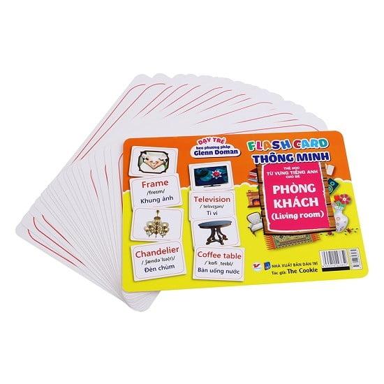 Flash Card Thông Minh - Phòng Khách
