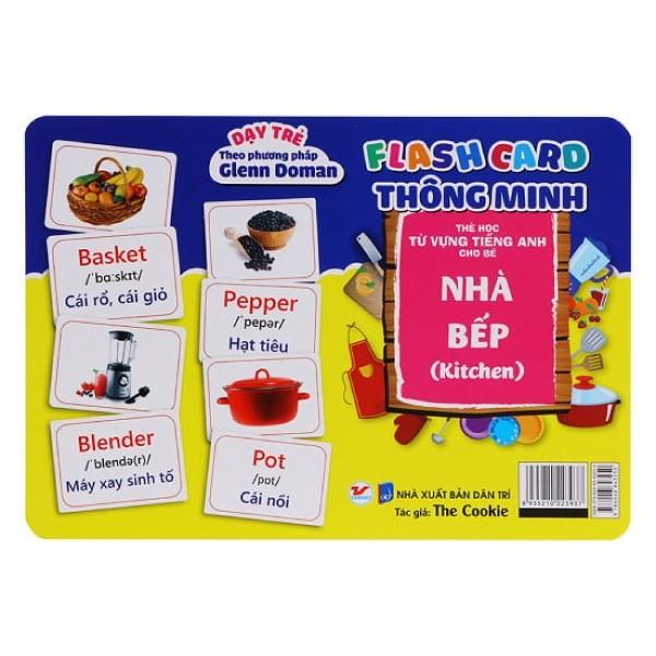 Flash Card Thông Minh  - Nhà Bếp