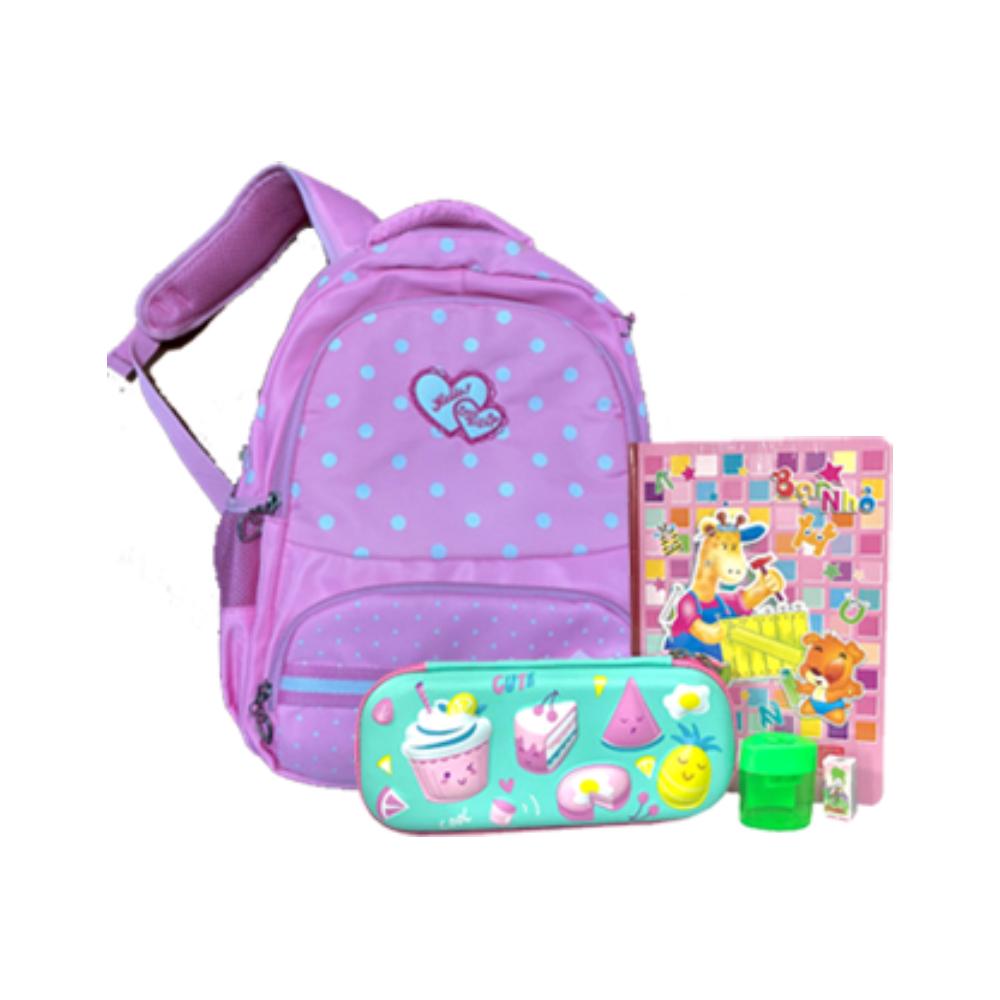 Combo Back to school dành cho bé gái (CẤP 1)