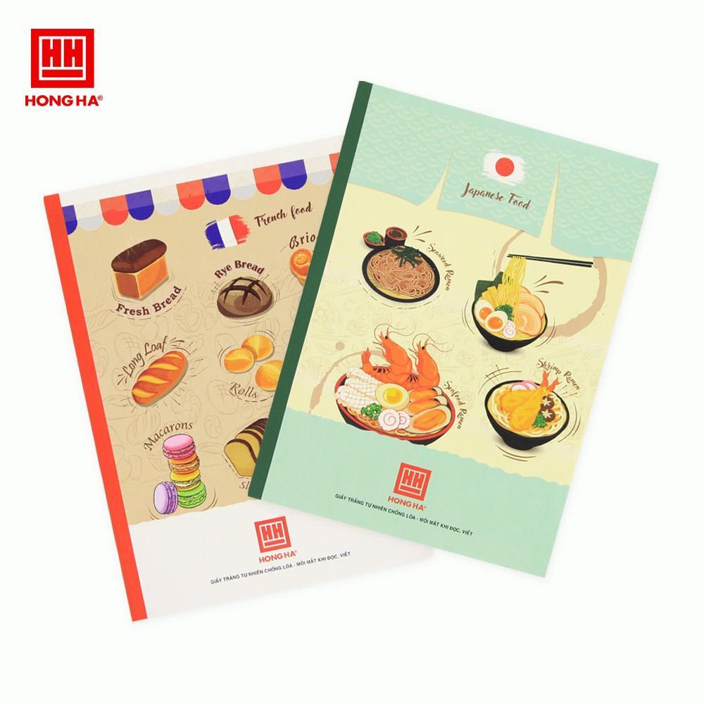 [MUA 5 TẶNG 1] Vở Pupil Traditional Food (FSC) 120 trang