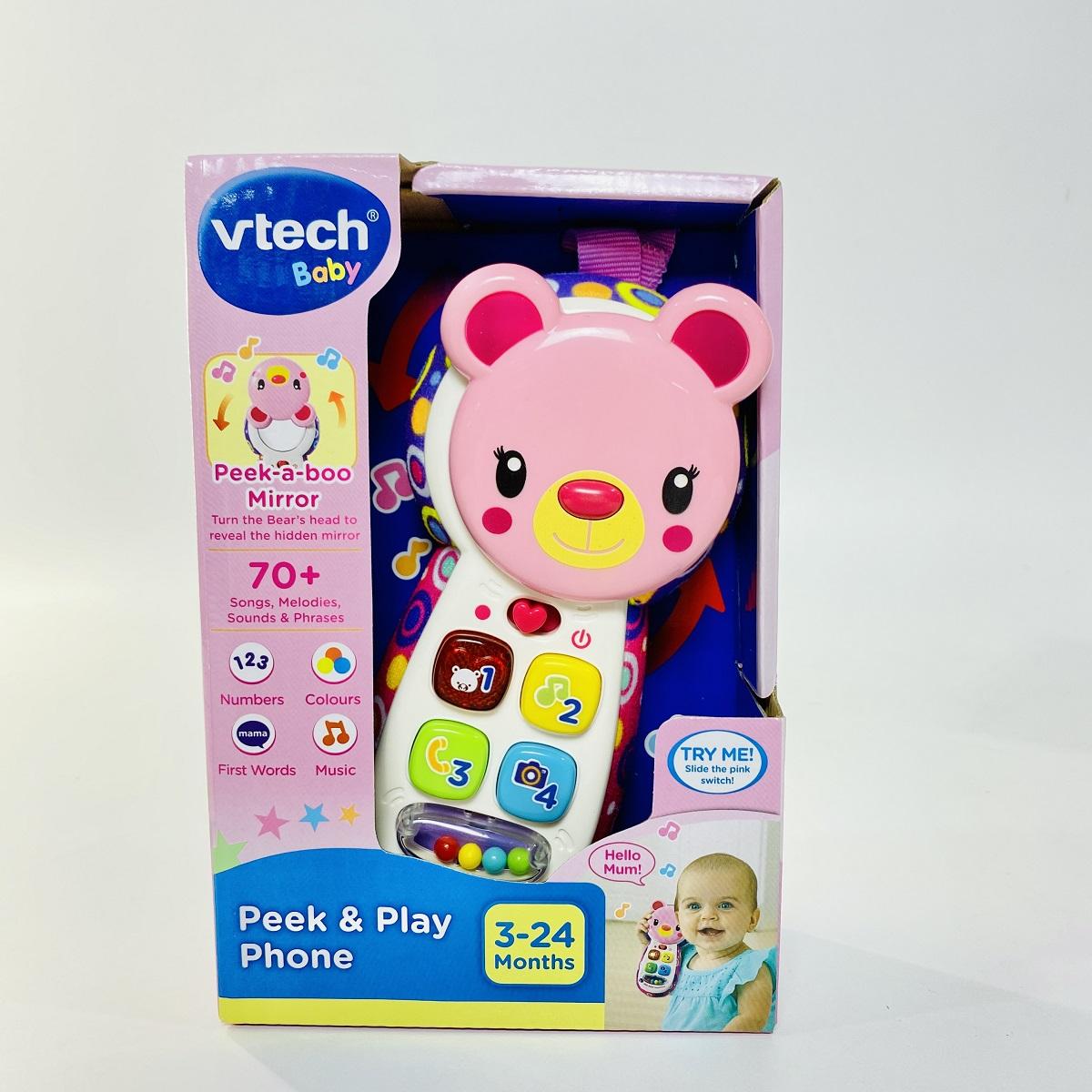 80-502753 Play Phone - Điện thoại Gấu (hồng)