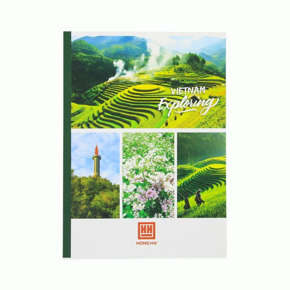 [MUA 5 TẶNG 1] Vở Hồng Hà Exploring kẻ ngang 120 trang - 1097