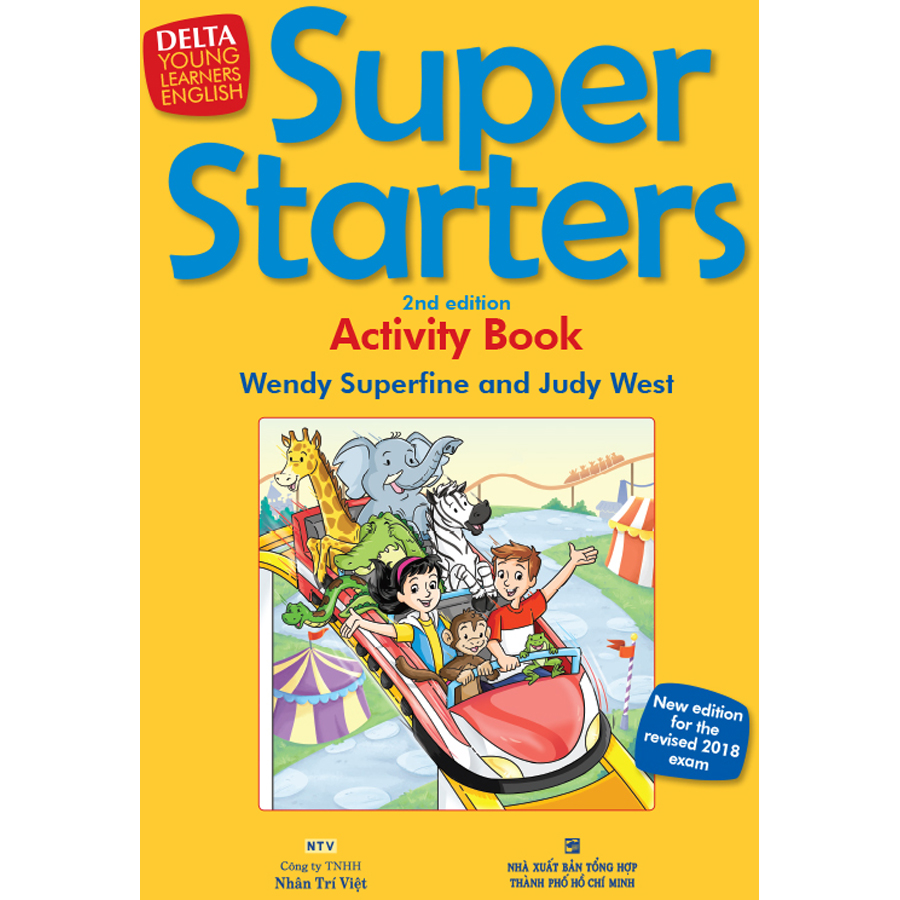 Super Starters 2nd Edition - Activity's Book (Kèm CD Hoặc File MP3)