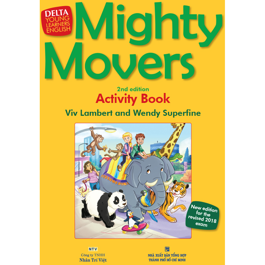 Mighty Movers 2nd Edition - Activity's Book (Kèm CD Hoặc File MP3)