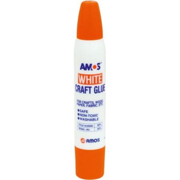 Lọ Hồ Sữa White Amos White Craft Glue 34Ml Wcg34