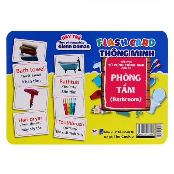 Thẻ Flash Card Thông Minh - Phòng Tắm