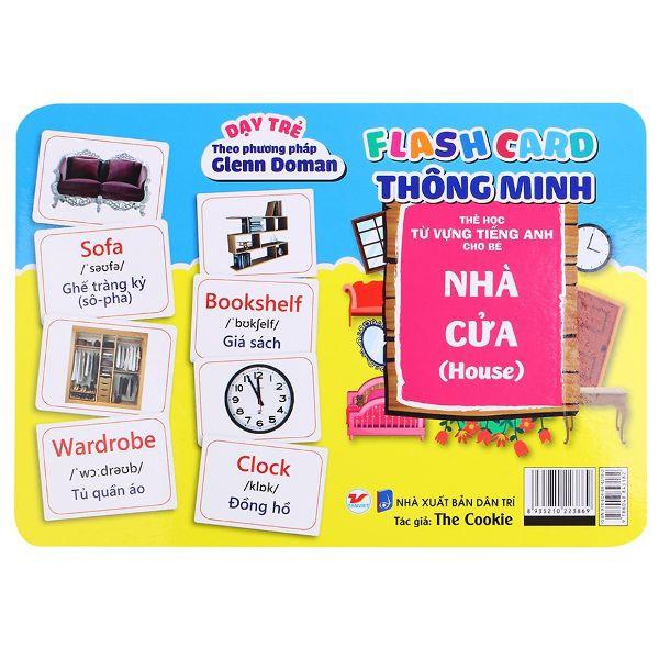 Thẻ Flash Card Thông Minh - Nhà Cửa (Số 45)