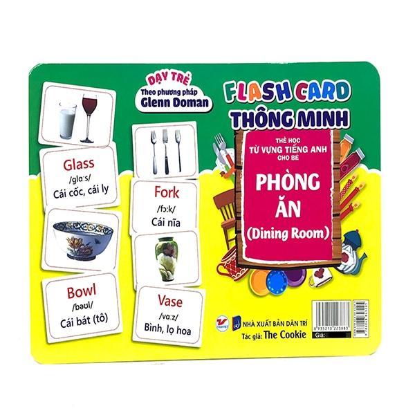 Flash Card Thông Minh - Phòng Ăn