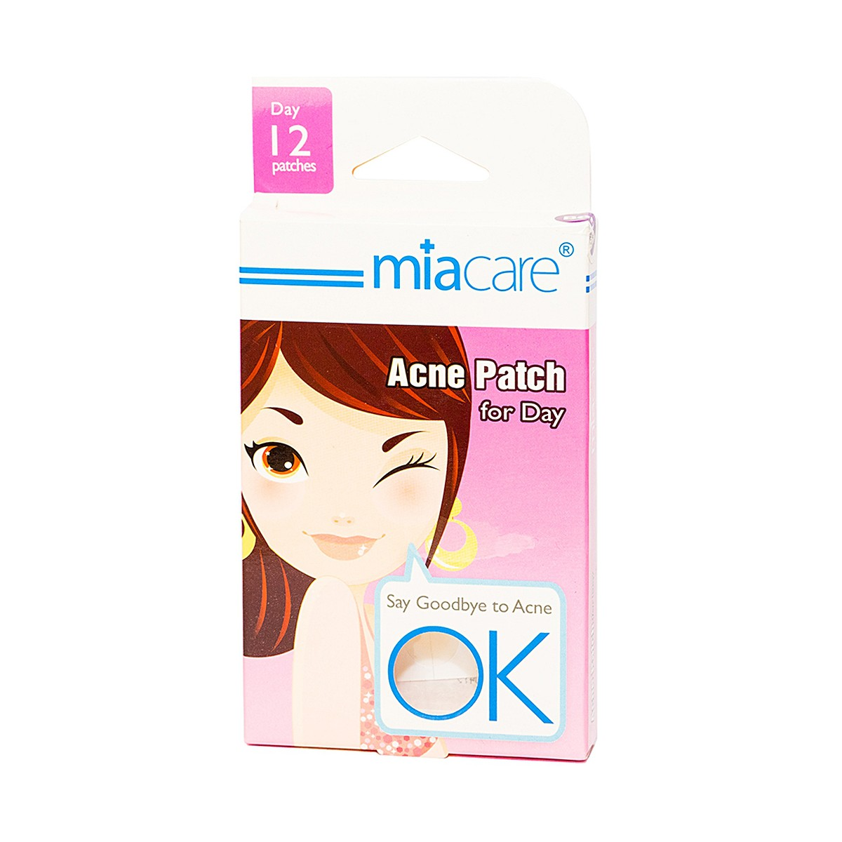 Miacare Acne Patch For Day- Miếng dán mụn