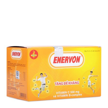 Enervon - Giúp bổ sung Vitamin B, C