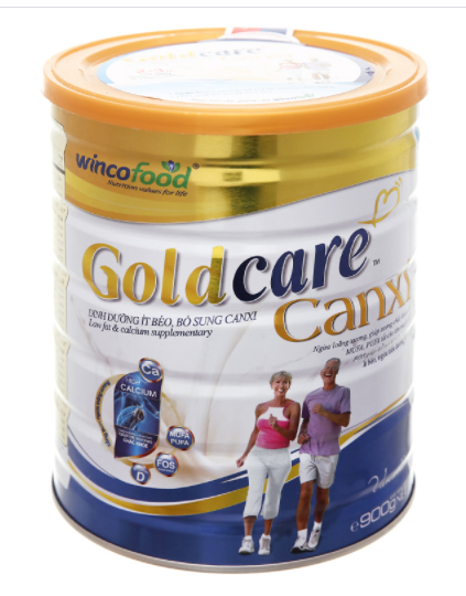 Wincofood GoldCare Canxi - Sữa bột bổ sung canxi
