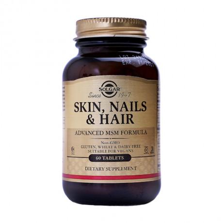 Hair Skin Nails Solgar - Viên dưỡng tóc, da, móng.