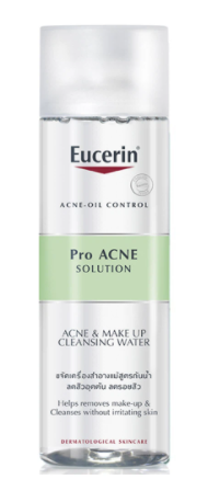 Nước Tẩy Trang Eucerin Proacne Solution Acne & Make-Up Cleansing Water