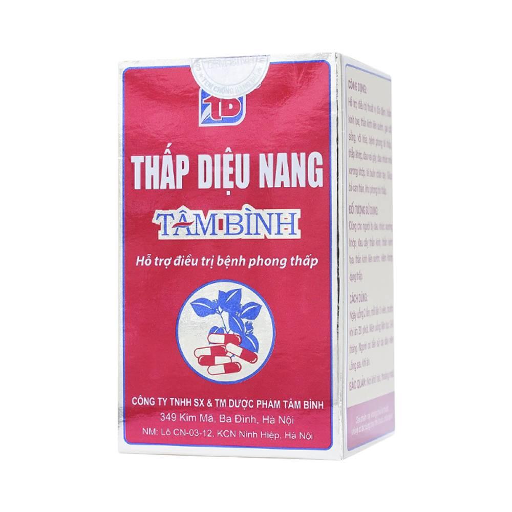 Thấp Diệu Nang Tâm Bình - Viên uống giúp giảm đau phong tê thấp