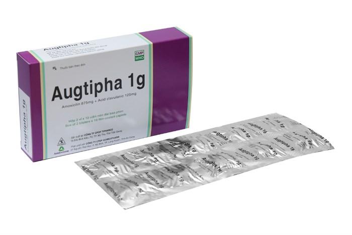 Augtipha 1g hộp 20 viên - Thuốc kháng sinh