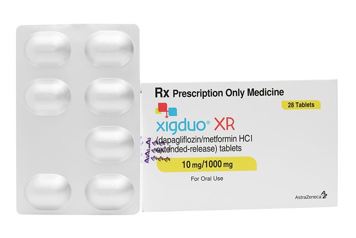 ☑️ Xigduo XR 10mg/1000mg 28 viên - Thuốc trị tiểu đường