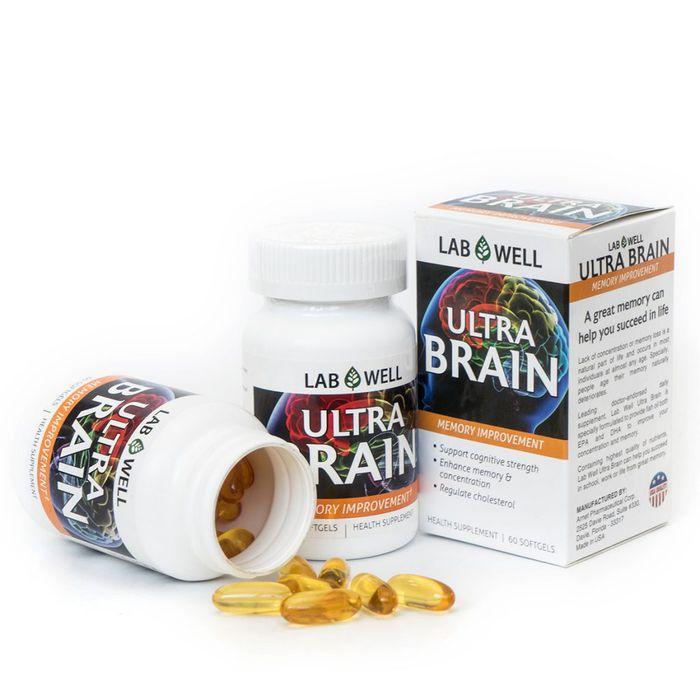 Ultra Brain Lab Well - Cải thiện trí nhớ