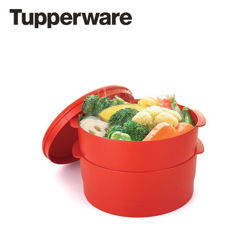 Xửng hấp Tupperware Steam it High 2 tầng