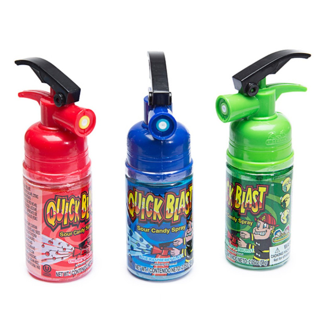 Kẹo bình xịt cứu hỏa Quick Blast Mỹ