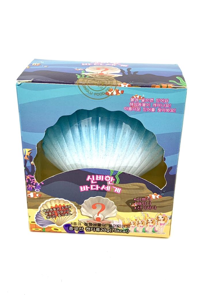Kẹo đồ chơi sò Hàn Quốc 20g