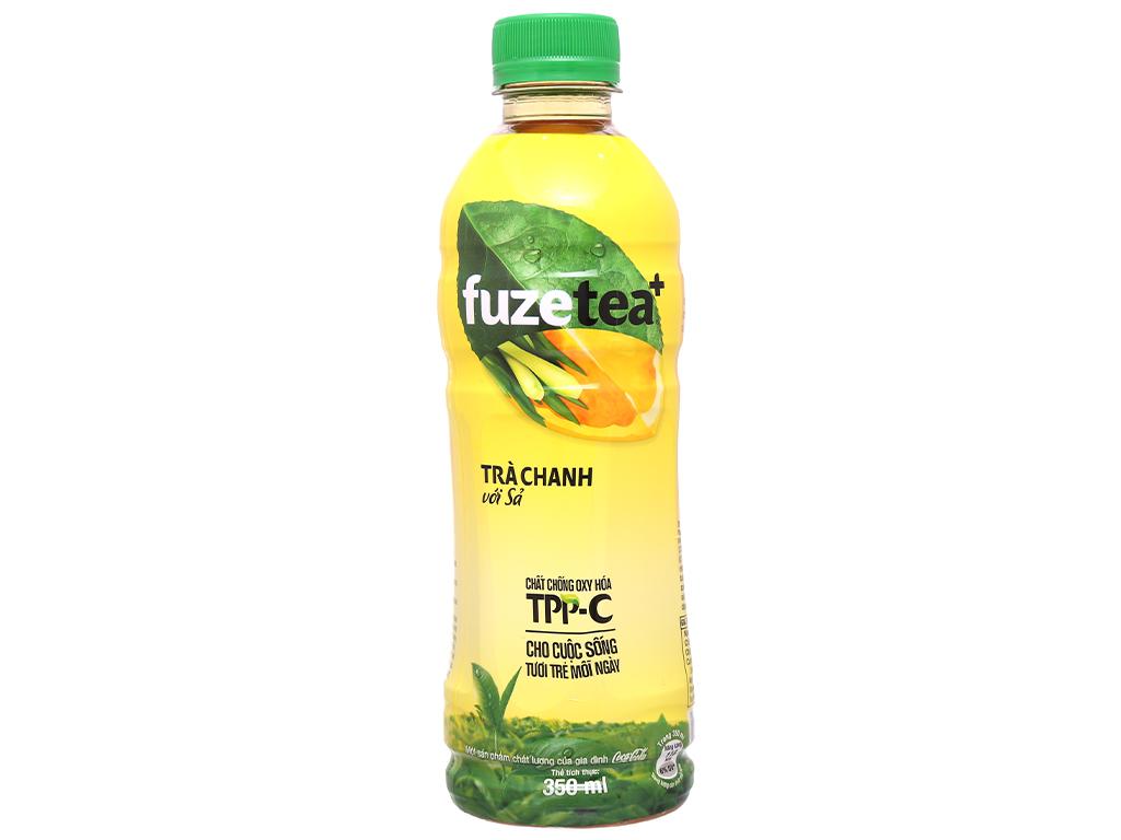 Trà Fuze tea chanh sả 350ml