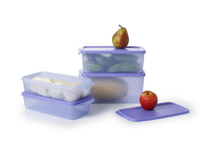 Bộ 4 hộp ngăn mát Tupperware