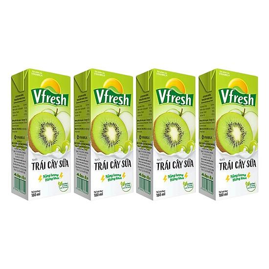 Nước trái cây sữa Vfresh vinamilk 180ml