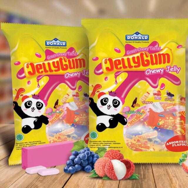 Kẹo thạch Donald JellyGum Indonesia