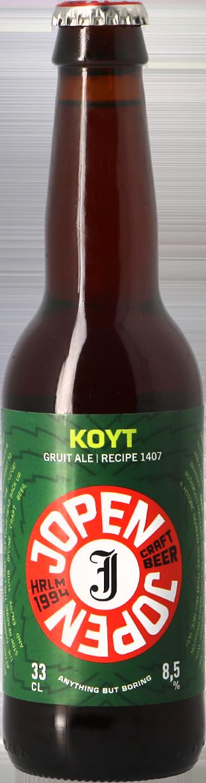 Bia Jopen Koyt Hà Lan 8,5%vol 330ml