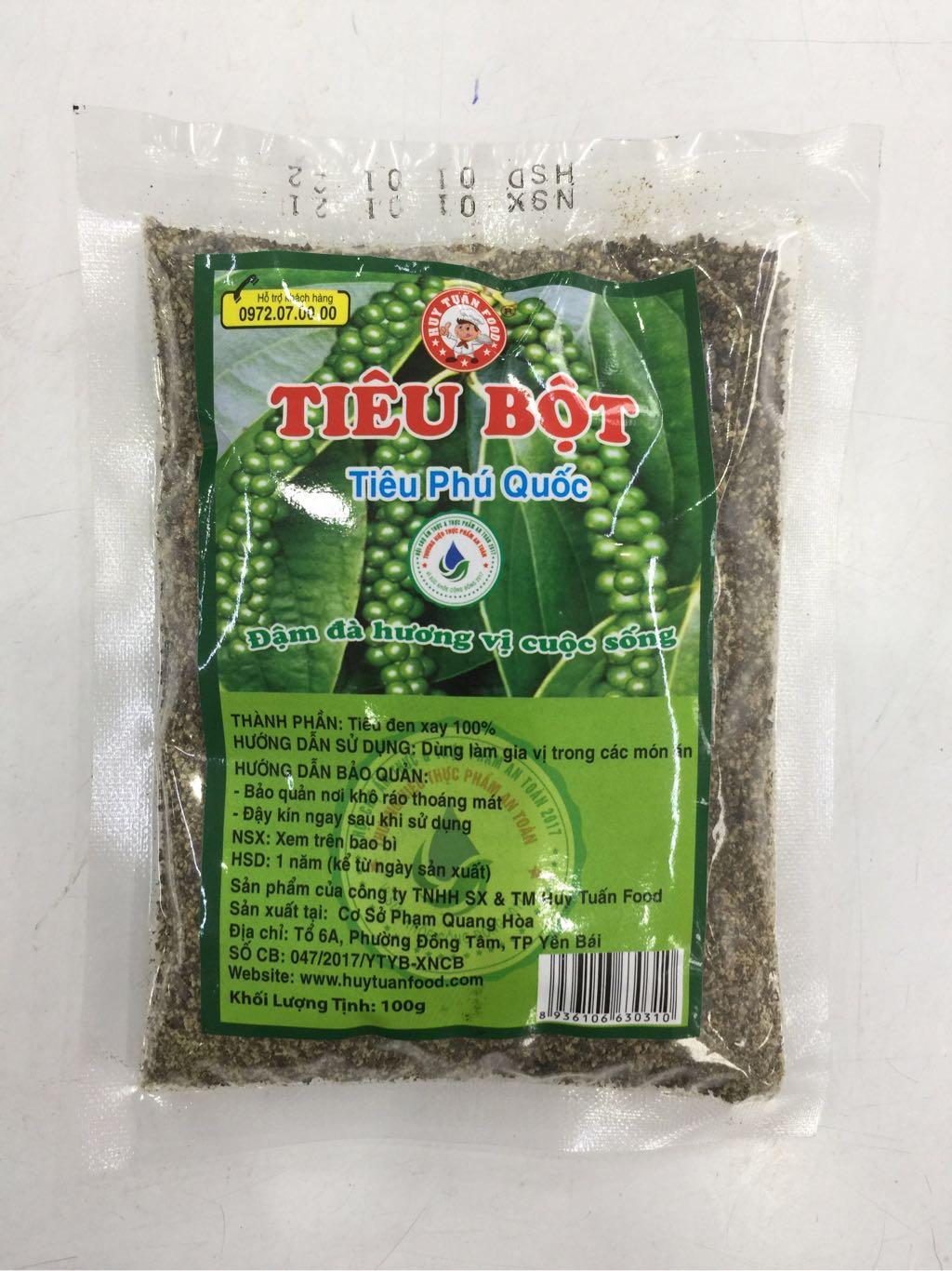 Tiêu bột Phú Quốc 100g