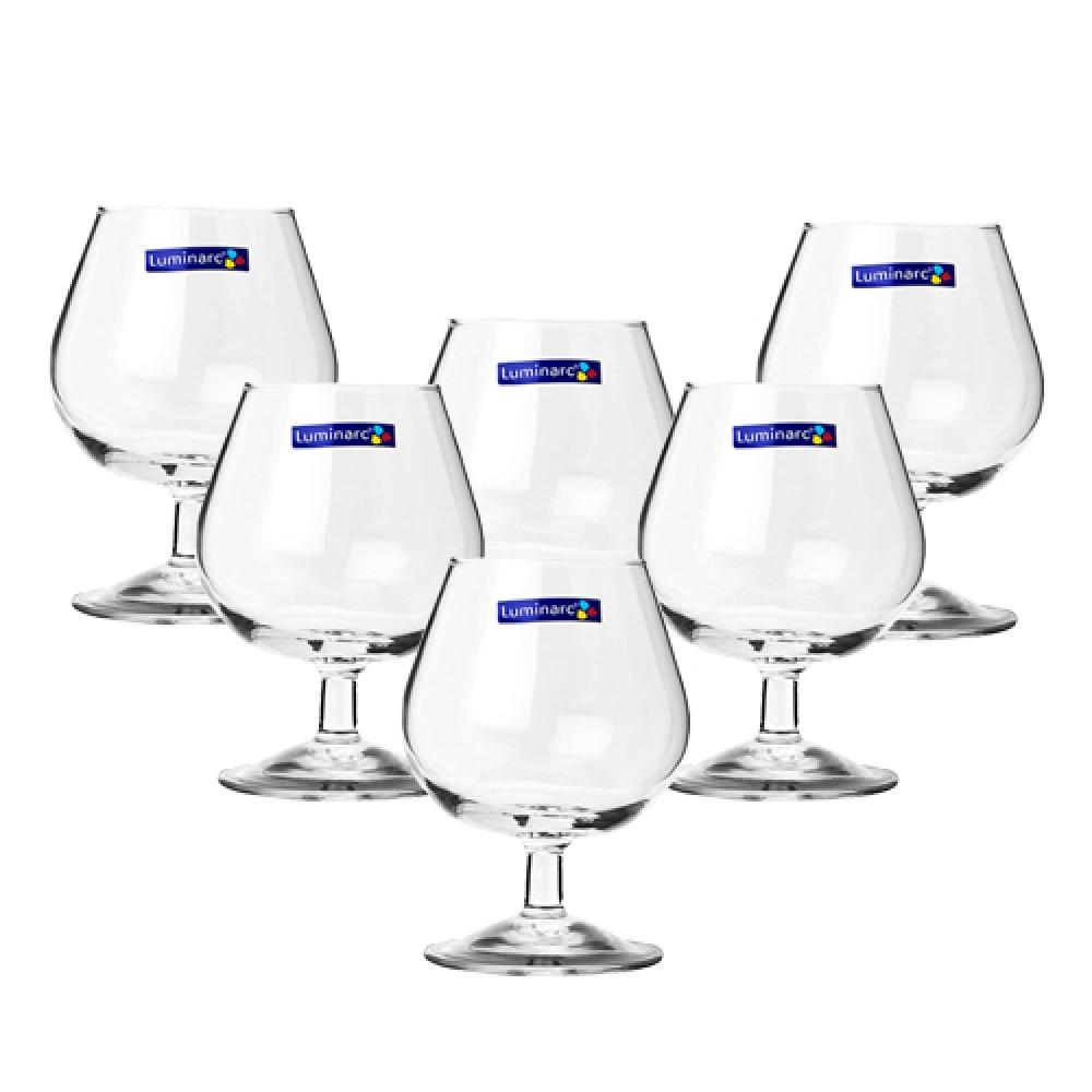 Bộ 6 Ly rượu thuỷ tinh Luminarc Cognac 250ml