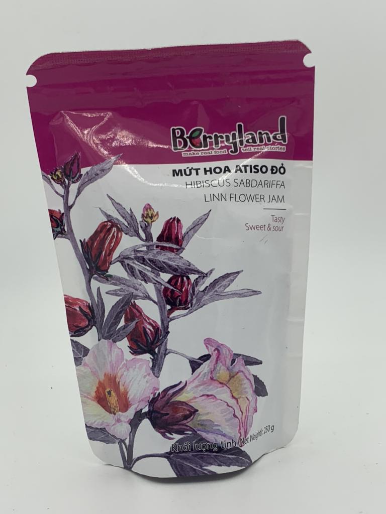 Mứt hoa Atiso đỏ Berryland 250g