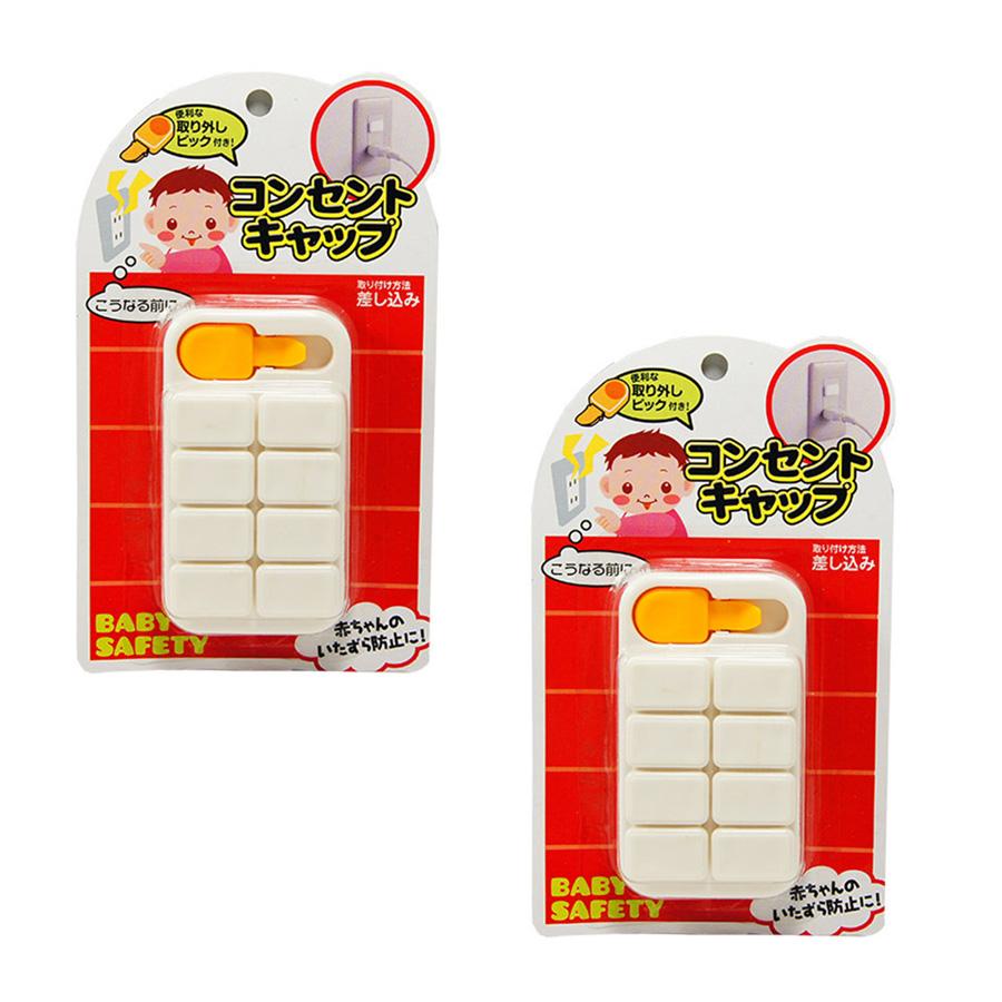 Bộ 8 bịt ổ điện Nhật Bản