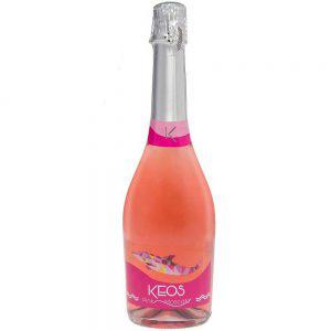 Rượu vang nổ Keos Pink Moscato Tây Ban Nha 750ml