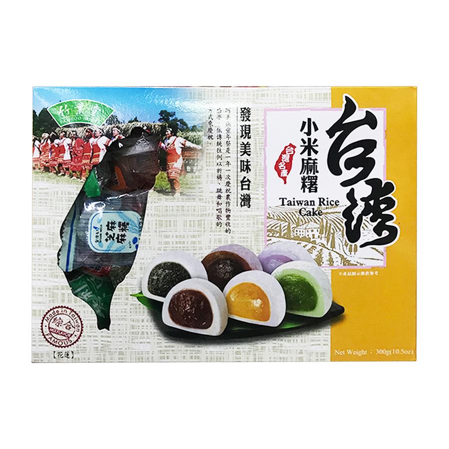 Bánh mochi tổng hợp Rice Cake 300g