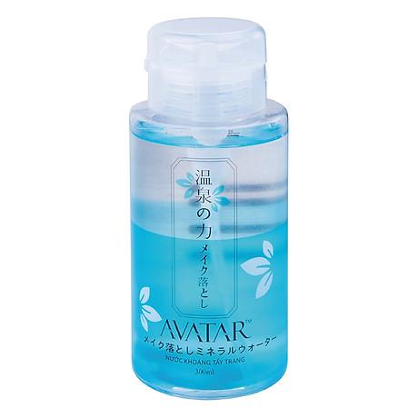 Nước khoáng tẩy trang Avartar 300ml Nhật Bản
