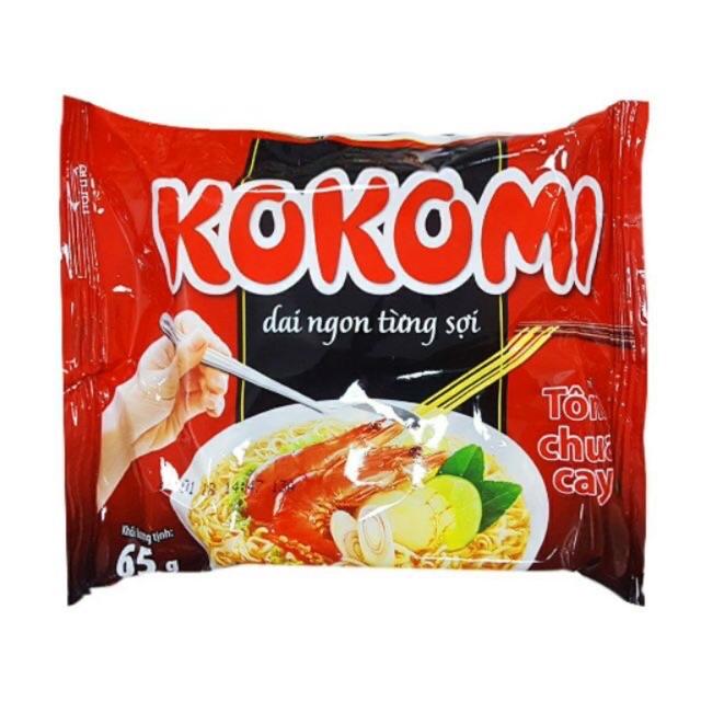 Mì Kokomi Tôm chua cay MB 100 gói*65g