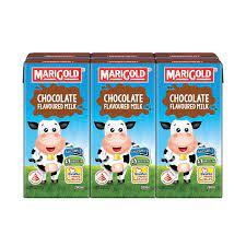 Sữa tươi Singapore MariGold vị socola 200ml * 24 hộp/thùng