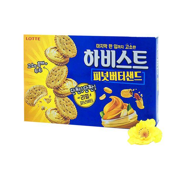 Bánh quy đậu phộng mật ong Lotte Hàn Quốc 273g