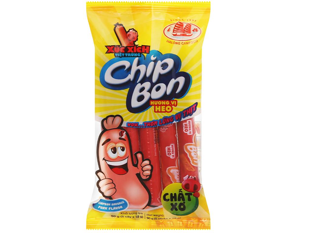 Xúc xích Chip Bon vị heo 300g
