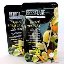 Rau củ và trái cây sấy Berryland 200g