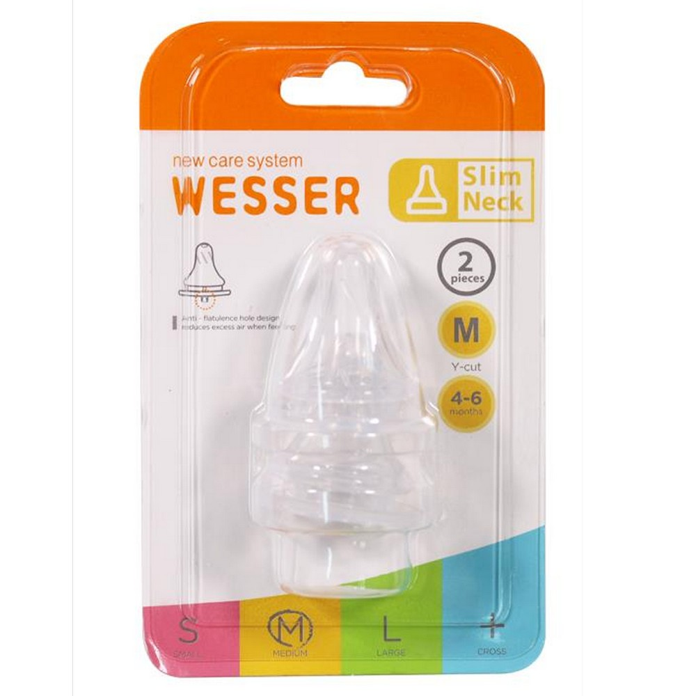 Núm vú Wesser cổ hẹp size M