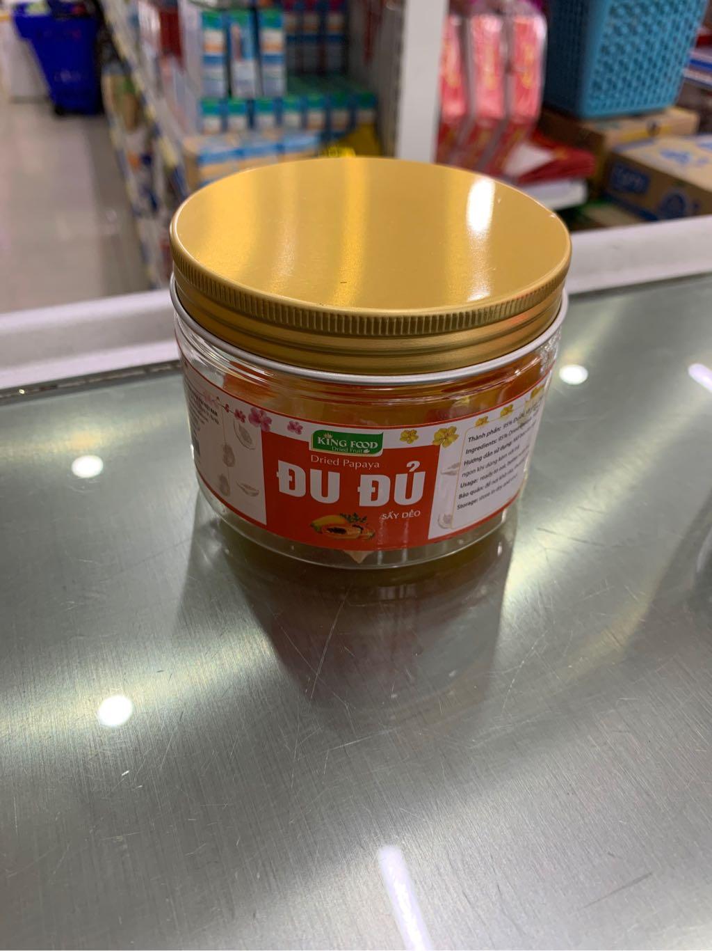 Đu đủ sấy dẻo King Food 100g