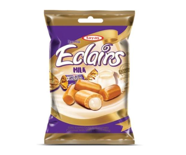 Kẹo Tayas Damla Eclairs vị sữa Thổ Nhĩ Kỳ 300g