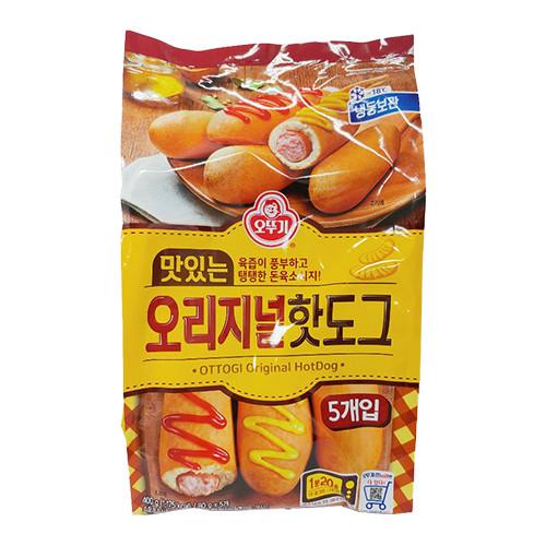 Xúc xích Ottogi truyền thống 5 xiên Hàn Quốc 400g